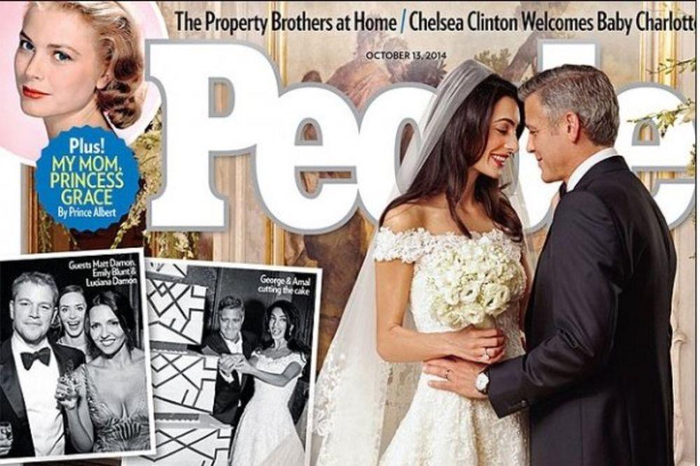 Pogledajte fotografije sa venčanja Džordža Klunija i Amal Alamudin!