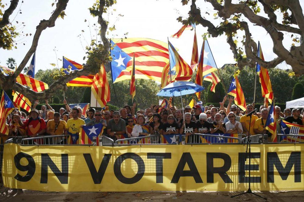 Katalonija: 80 odsto izašlih glasača za nezavisnost od Španije