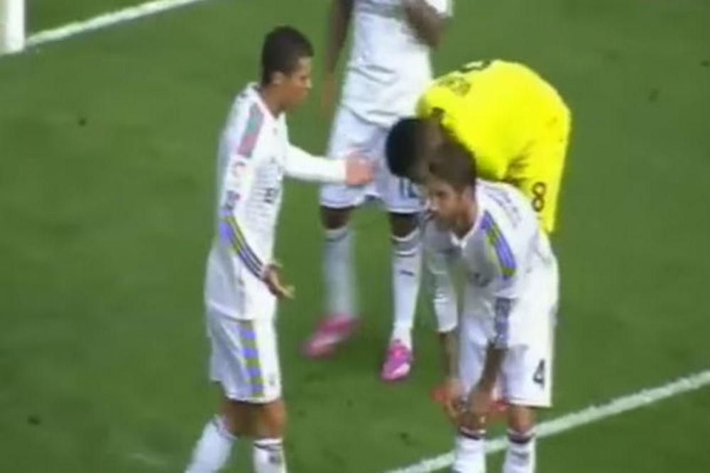 (VIDEO) RAMOS IZNERVIRAO RONALDA: Pogledajte svađu fudbalera Reala