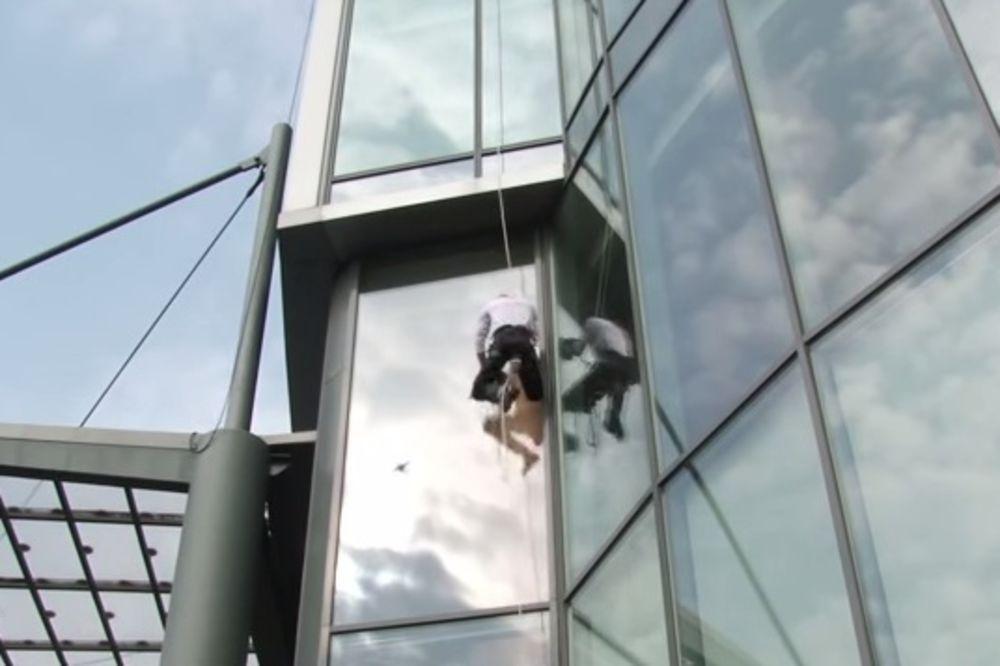(VIDEO) Francuski Spajdermen osvojio najvišu zgradu u Moskvi