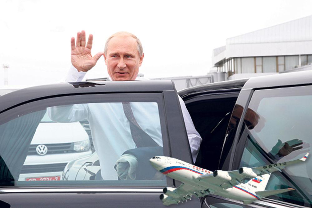 Putin će se provozati Beogradom svojim blindiranim zilom