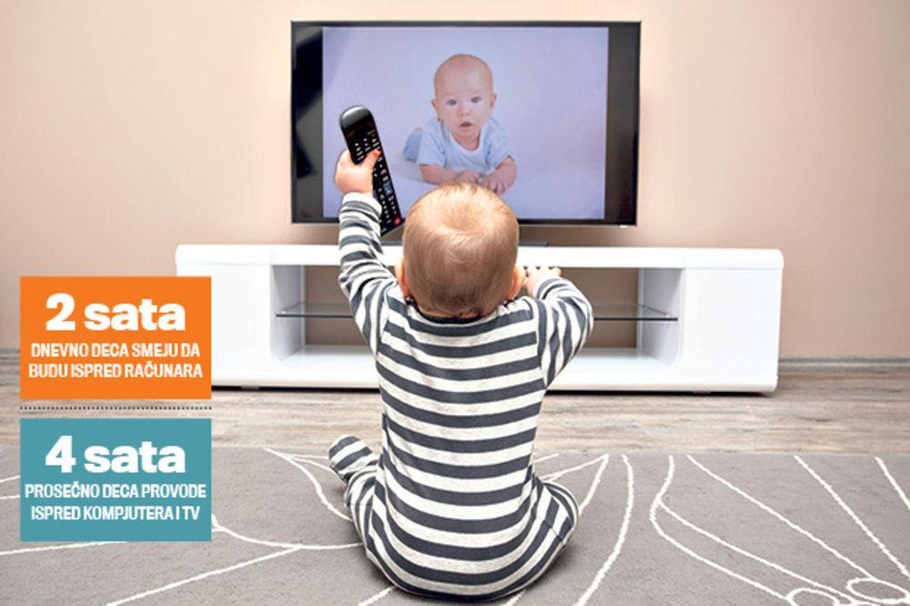 TELEVIZIJA ZAGLUPLJUJE DECU: Roditelji, spasite dete, podesite računar da se isključi!