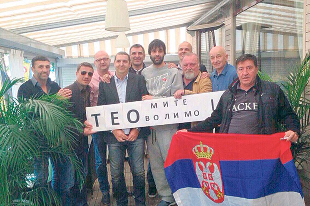 SLAVILI SVETSKO SREBRO: Srbi iz Rusije dočekali Teodosića