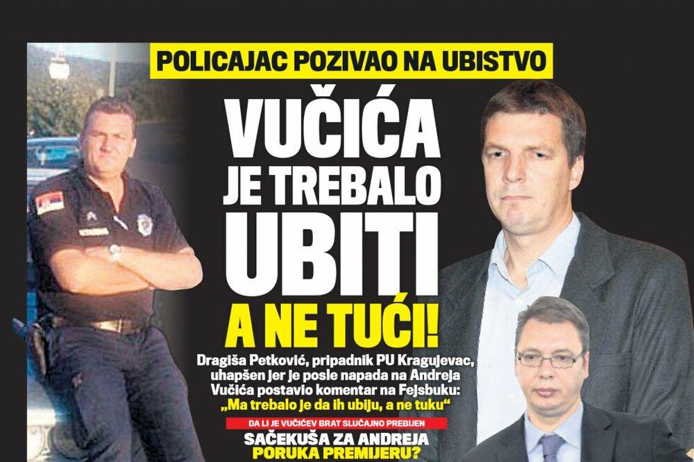 DANAS U KURIRU Sačekuša za Andreja - poruka premijeru Vučiću?