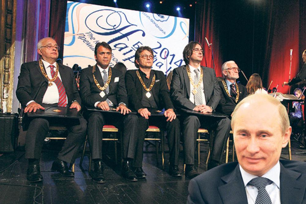 PRIZNANJE FONDACIJE: Karići nagradili Putina!