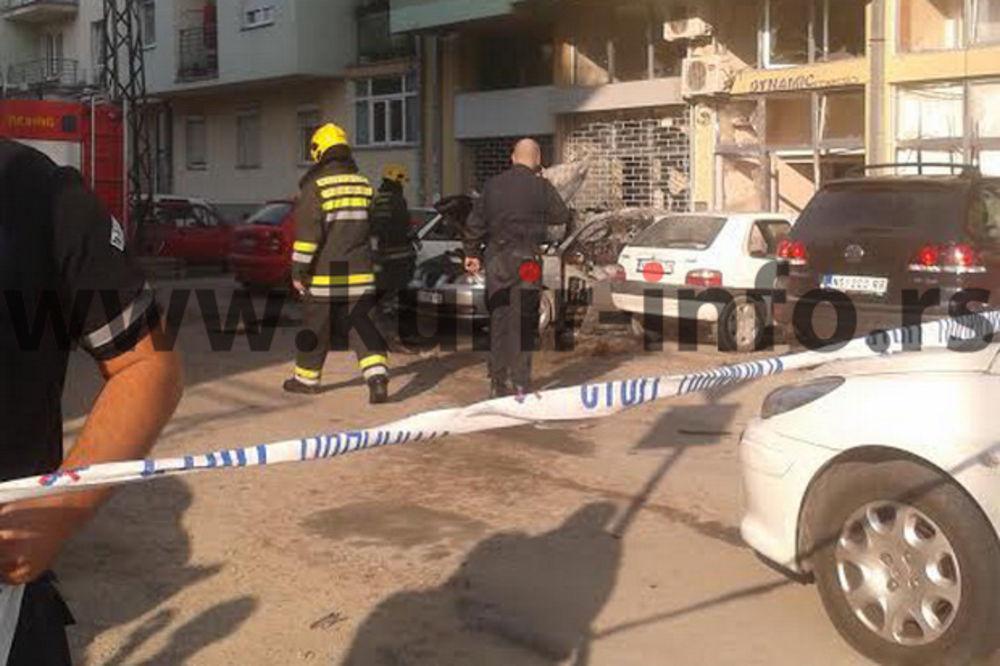 NOVI SAD: Čovek povređen u eksploziji automobila sa lažnim tablicama!