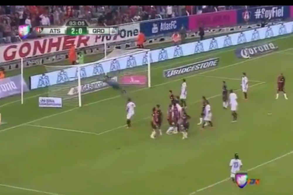MAJSTOR SLOBODNJAKA: Pogledajte prvi gol Ronaldinja u Meksiku