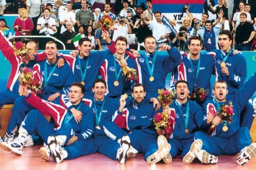 NAJVEĆI USPEH NAŠE ODBOJKE: Pre 14 godina osvojeno je olimpijsko zlato