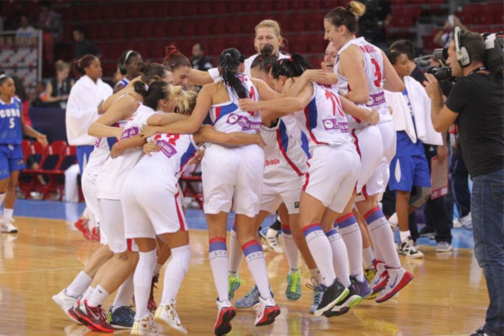 BRAVO DEVOJKE: Srpske košarkašice posle drame u četvrtfinalu SP