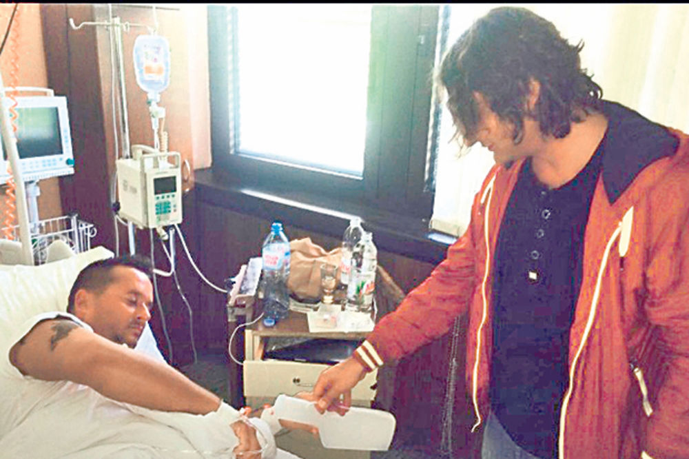 SRČANE TEGOBE: Ivan Ivanović završio u bolnici