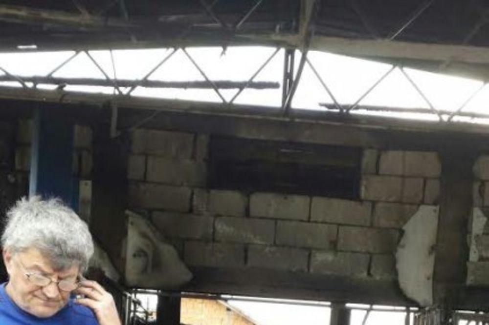 POPRAVLJALI GOLF: Izgoreo auto-servis u Železniku, dvoje povređeno!