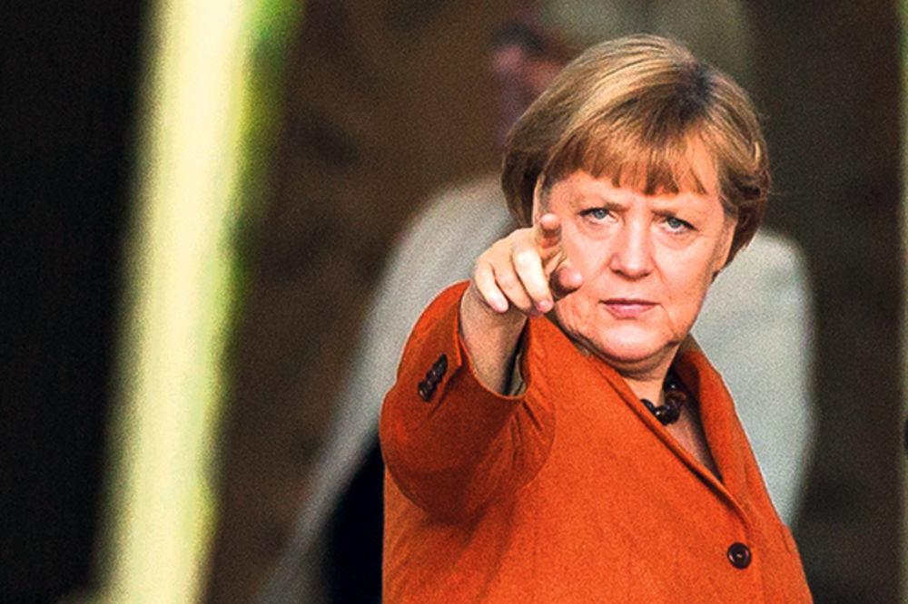 Angela Merkel, photo Reuters