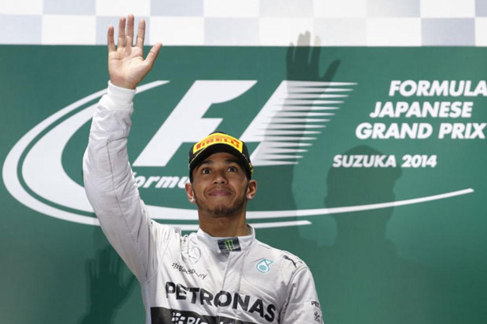 DRUGI PUT U KARIJERI: Luis Hamilton šampion Formule jedan