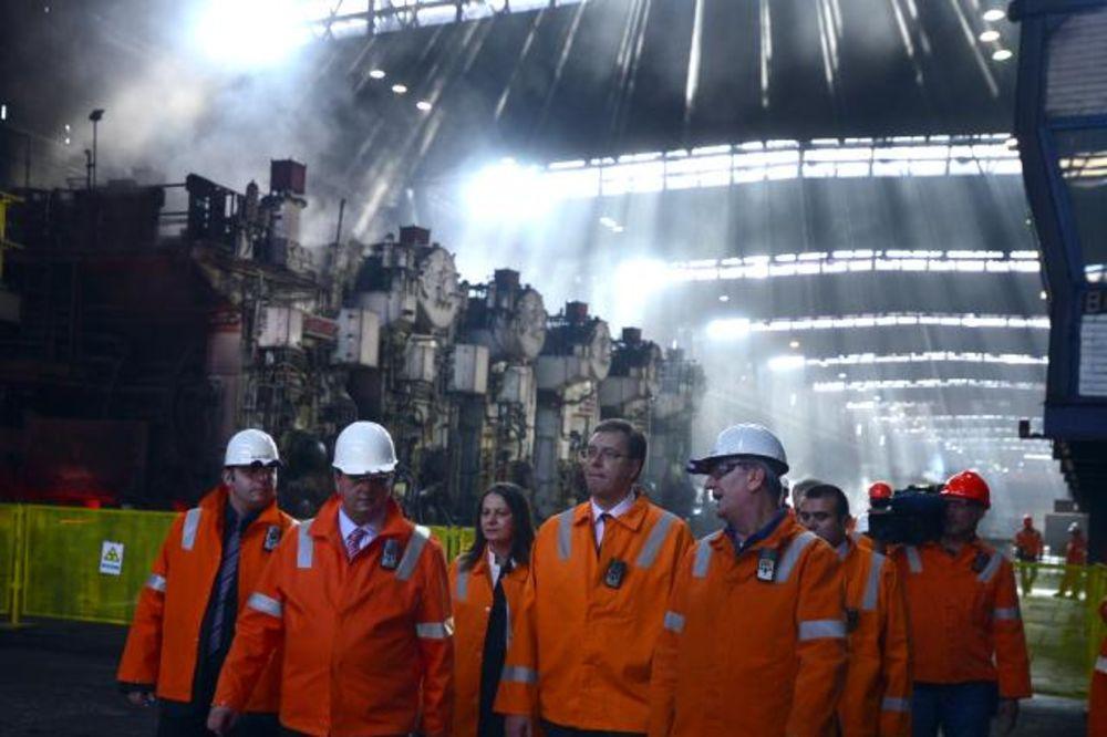 DIREKTOR ŽELEZARE ZA KURIR: Premijer je stao uz fabriku, do kraja godine imaćemo strateškog partnera