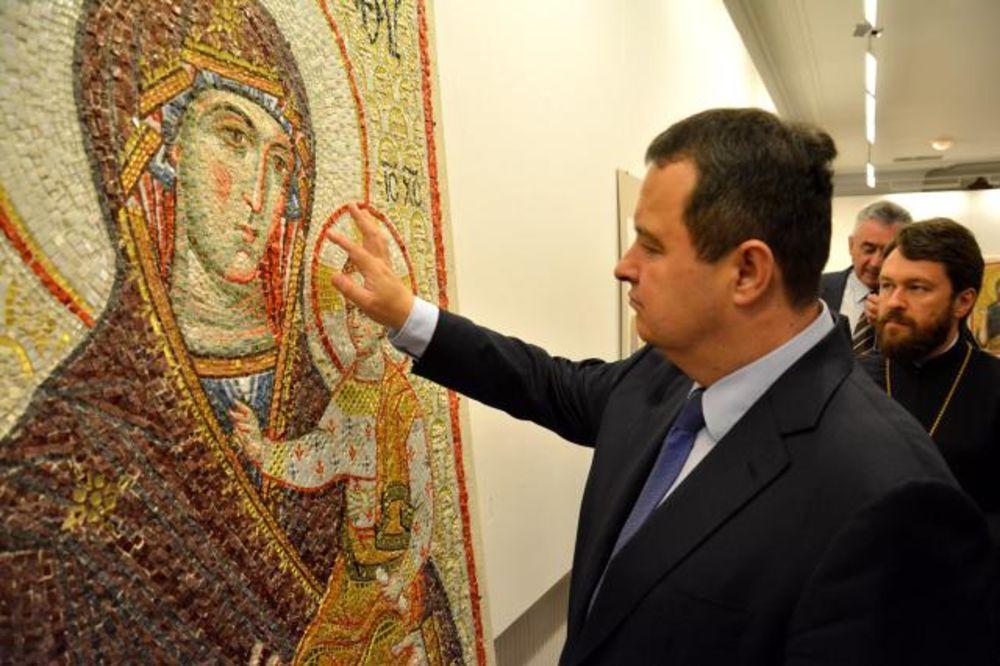 HRAM SVETOG SAVE: Rusi daju 30 miliona evra za oslikavanje!