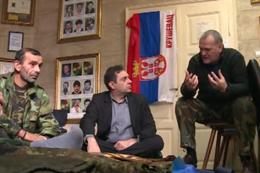 VALJEVO: Okončan štrajk ratnih veterana nakon sastanka sa Vulinom