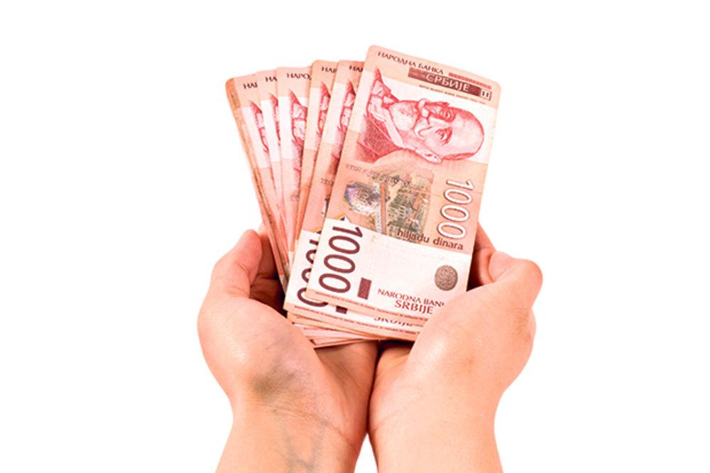DINAR I DALJE STAGNIRA: Evro danas 122,6 dinara