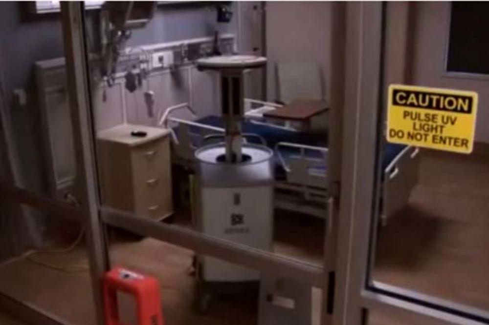 (VIDEO) REVOLUCIONARNO: Amerikanci napravili robot koji ubija virus ebole za dva minuta!