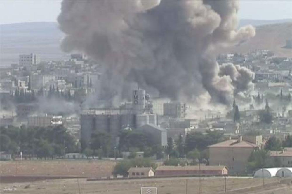 OPŠTA OFANZIVA DŽIHADISTA: ISIL napao Kobani iz svih pravaca!