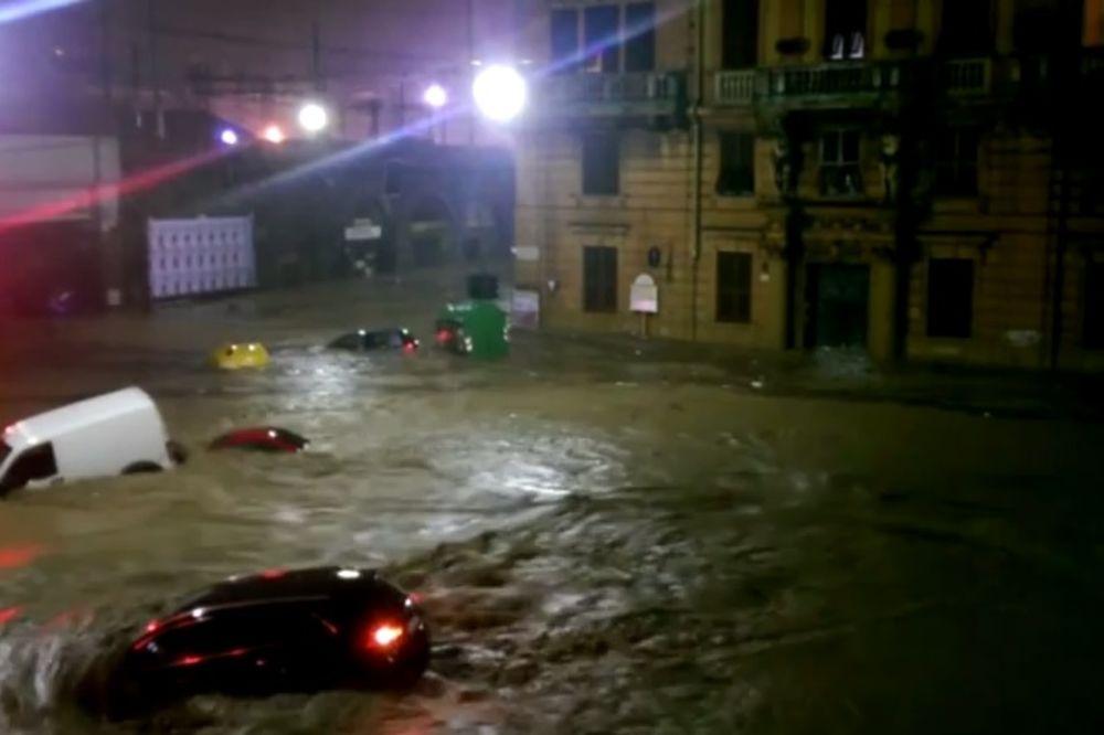 ITALIJA: Đenova poplavljena, jedna osoba stradala