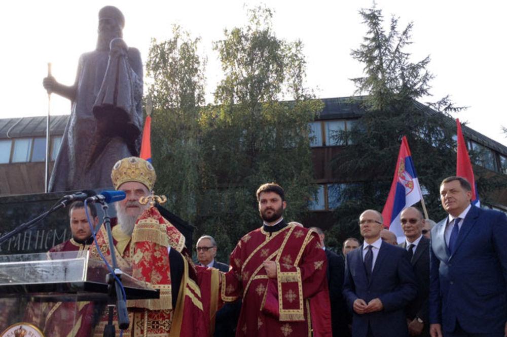 Patrijarh Irinej poželeo da predsednik Milorad Dodik i dalje vodi Srpsku