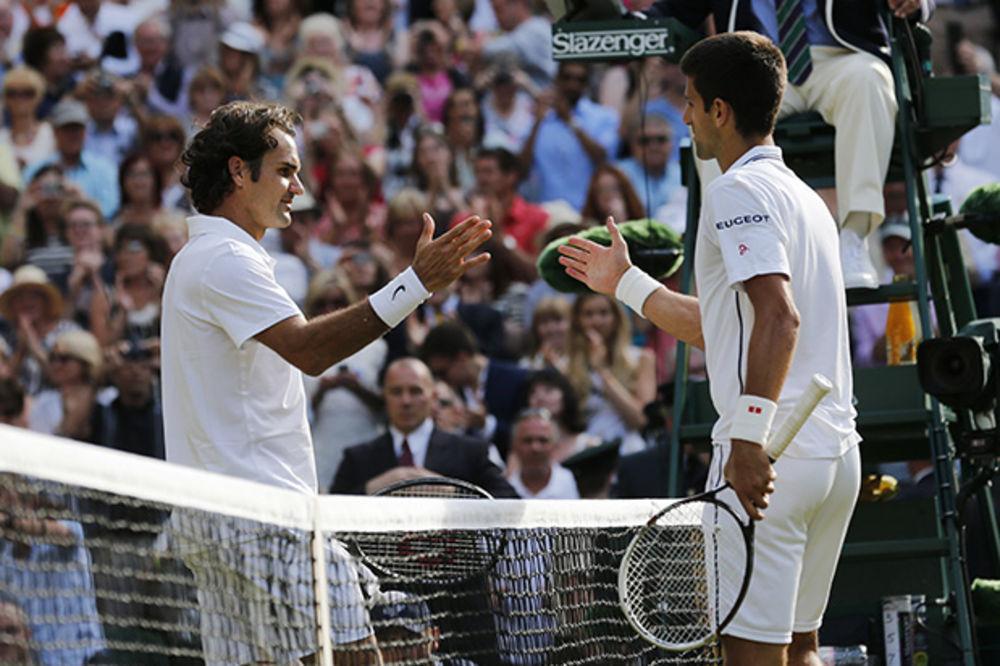 NOVAK SUVEREN NA ATP TRONU: Federer ima male šanse da ga prestigne