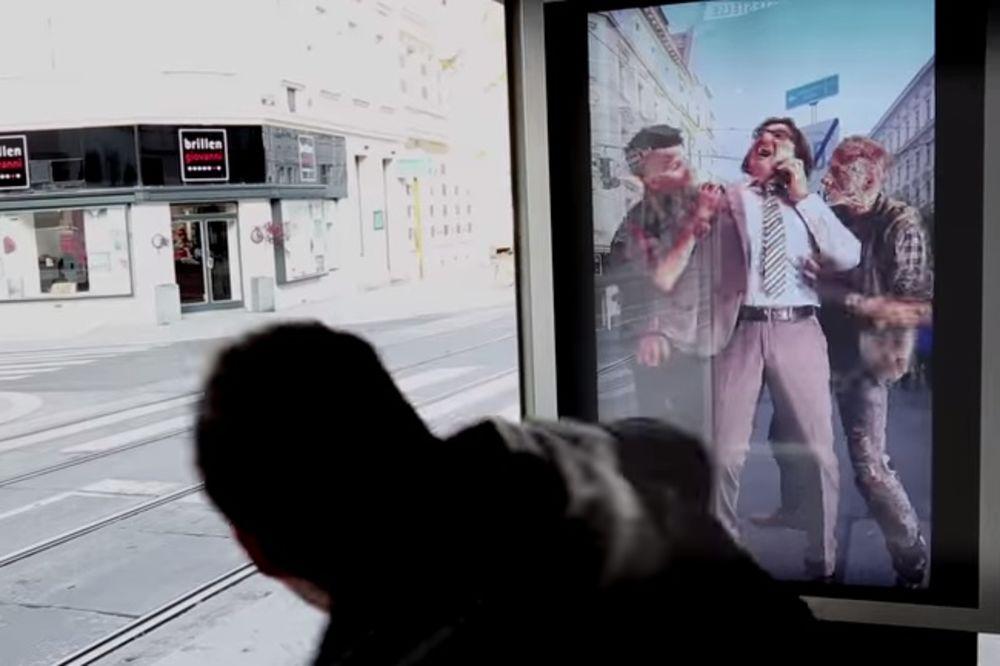 (VIDEO) HOROR U BEČU: Zombiji napadaju na tramvajskim stanicama!
