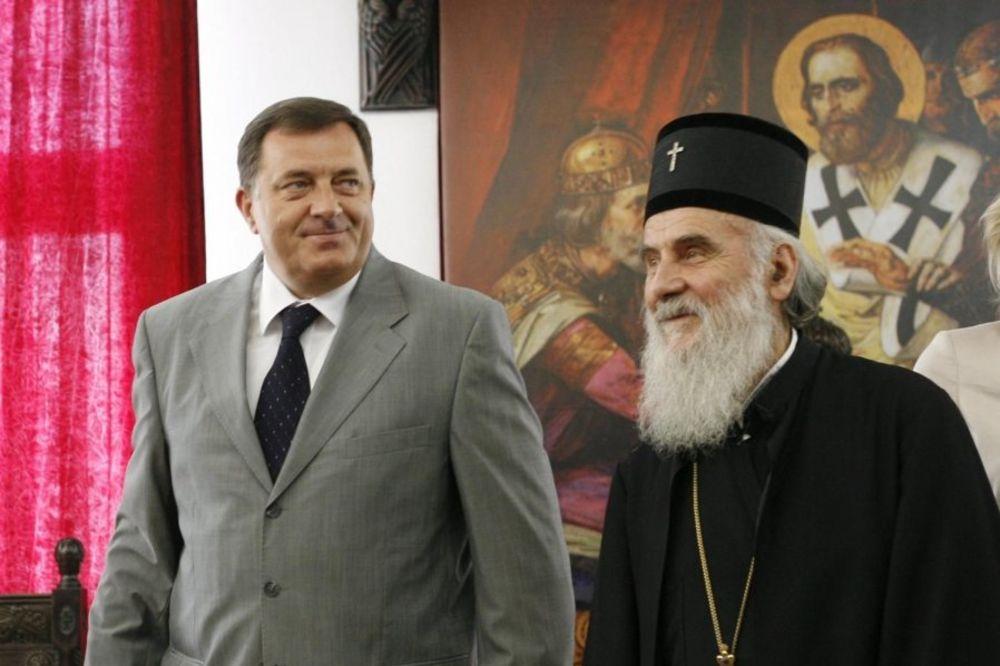 DOSTOJAN PREDSEDNIK SRPSKE: Patrijarh Irinej podržao Dodika za predsednika RS