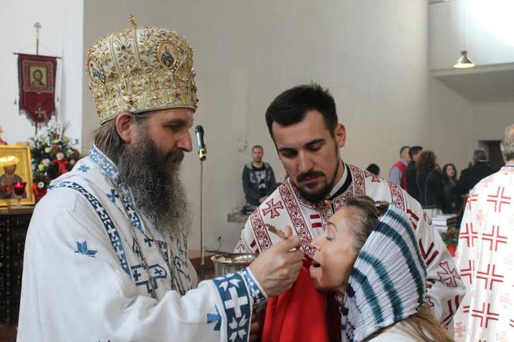 U najmlađem pravoslavnom hramu u Beču održana svečana liturgija!