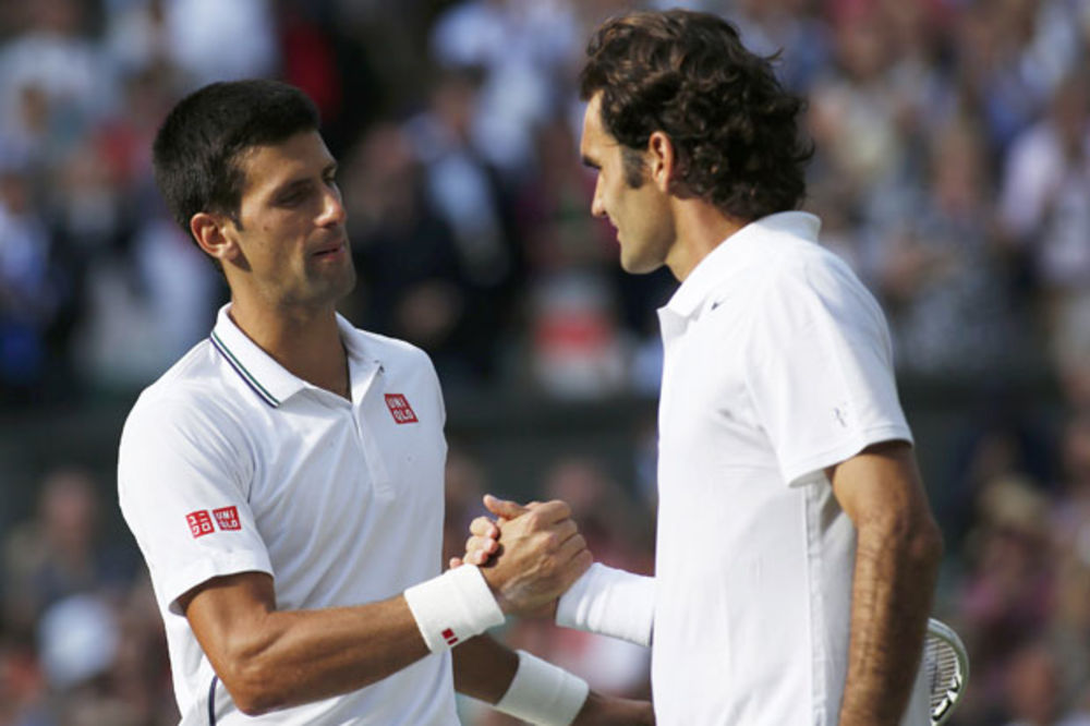TOPI SE NOVAKOVA PREDNOST: Federer za petama Đokoviću