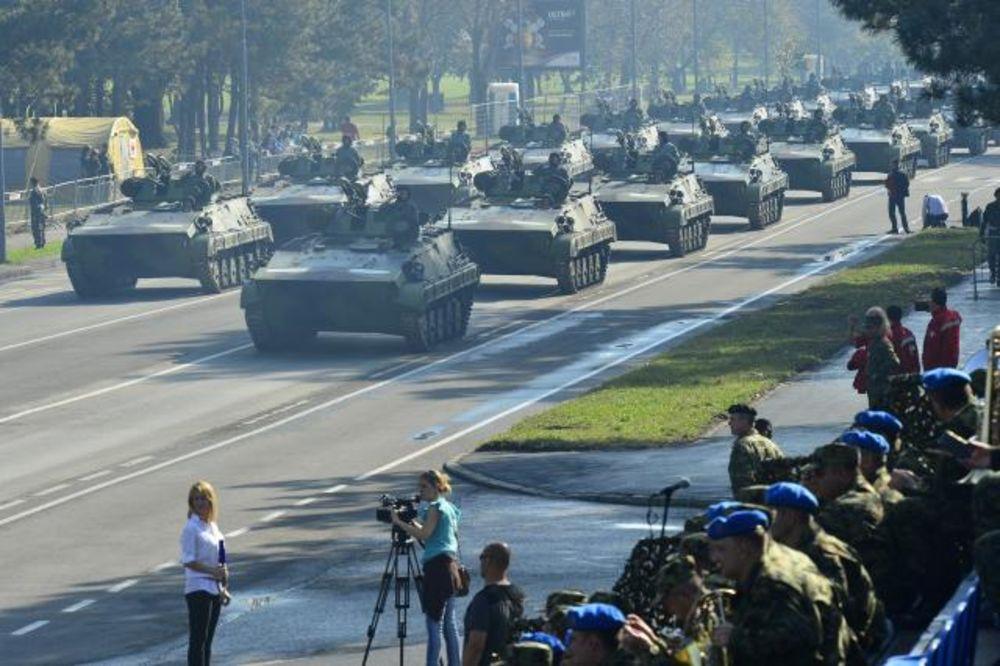 GENERALNA PROBA: Pogledajte paradu Vojske Srbije! (VIDEO)