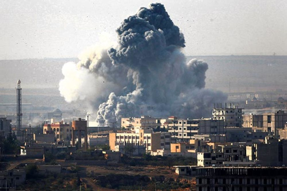 Turska umesto džihadista bombarduje Kurde
