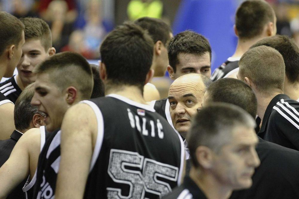 OPROŠTAJ OD EVROPE: Partizan iskalio bes na Asesoftu