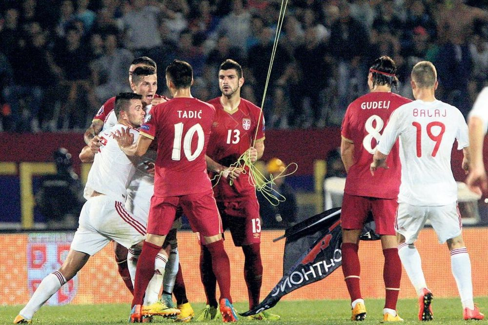 SRBIJA ŽESTOKO KAŽNJENA, A ONI SE ŽALE: Albanci nezadovoljni odlukom UEFA?!