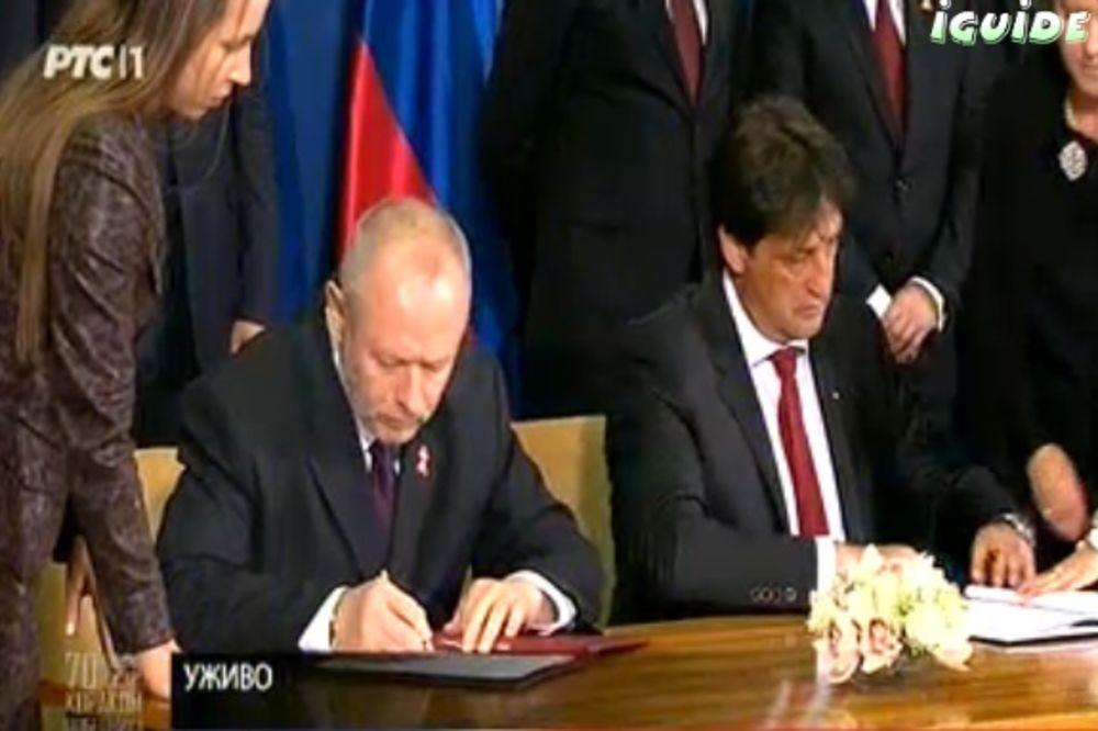 BILATERALNA SARADNJA: Srbija i Rusija potpisale Sporazum o vojno-tehničkoj saradnji!