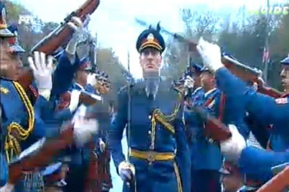 VIDEO OSTAVIĆE VAS BEZ DAHA: Pogledajte maestralan nastup gardista Vojske Srbije!