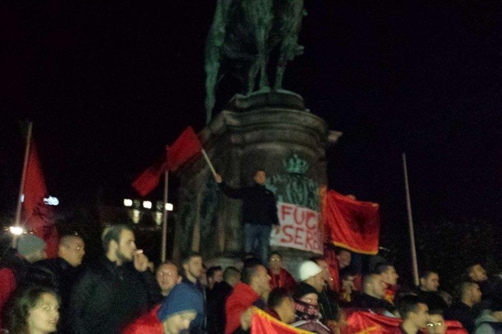 IZGRED U ŠVEDSKOJ: Albanci u Malmeu podržali provokatore s utakmice Srbija - Albanija
