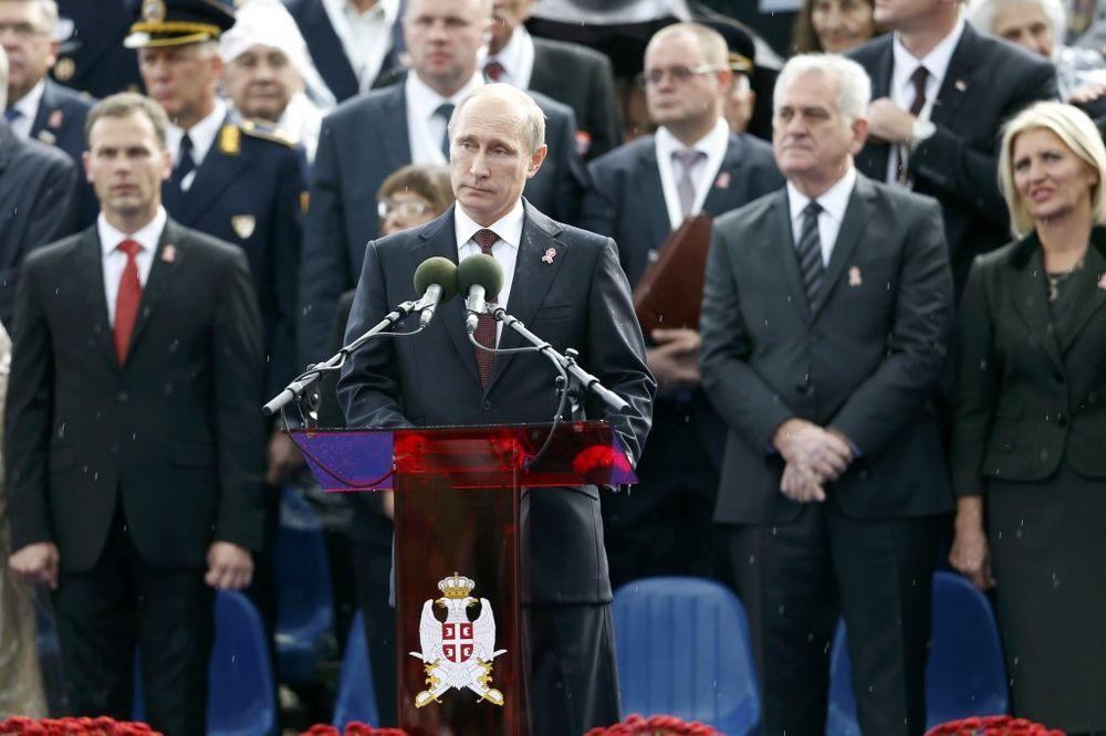 (VIDEO) GOVOR PREDSEDNIKA RUSIJE: Živela bratska Srbija!