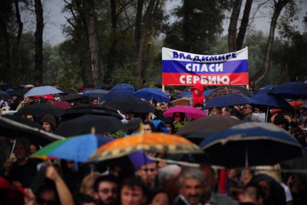 VLADIMIRE SPASI SRBIJU: Ovako ruski mediji izveštavaju o Putinovoj poseti Beogradu