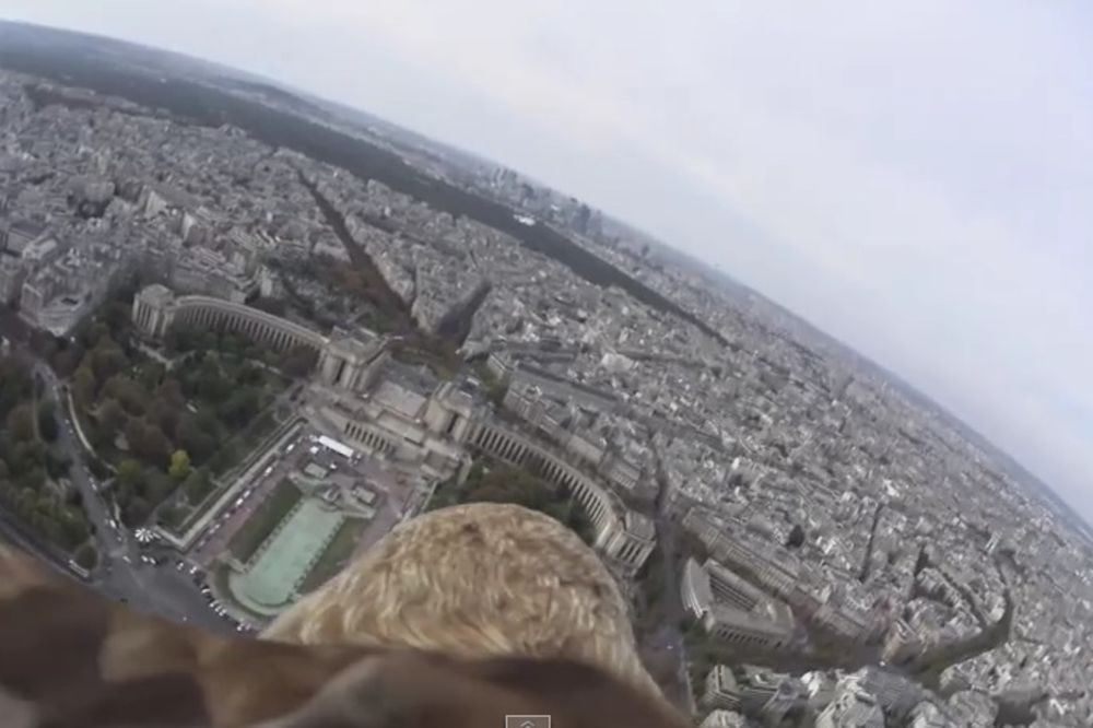 Pariz iz ptičje perspektive, ali bukvalno!