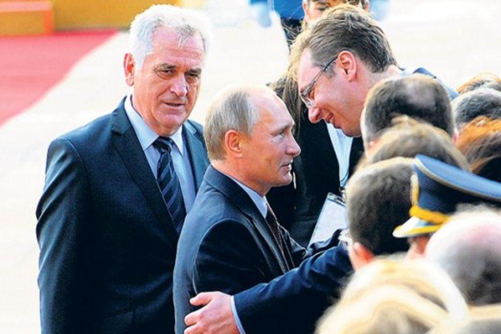 PUTIN U SRBIJI: Rusija će uložiti u Srbiju 10 milijardi dolara!