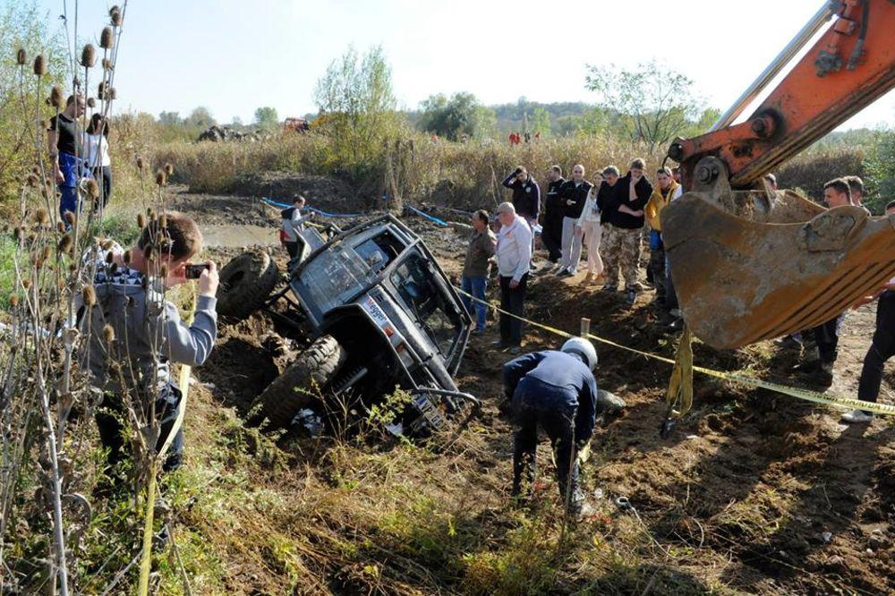 POBEDNIK BEOGRADA: Jubilarni reli terenaca na Bubanj Potoku
