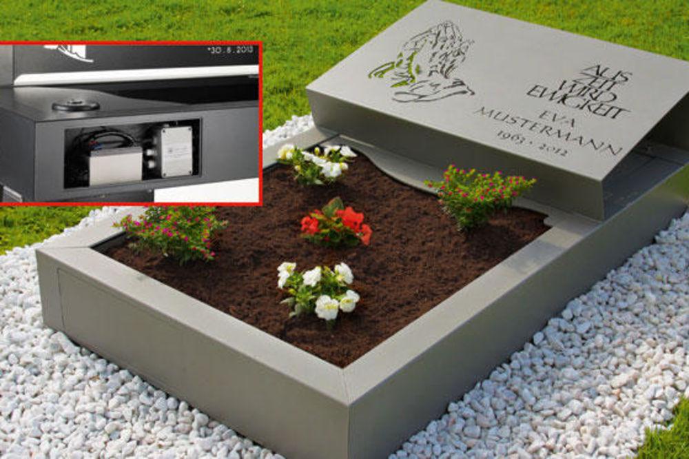 INTERNET JE ČUDO: Porodice preminulih će iz fotelje paliti sveće i zalivati cveće na grobu!