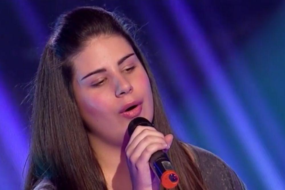 STOJEĆE OVACIJE ZA MARIJU: Imaš glas Jelene Tomašević, a snagu Selin Dion!