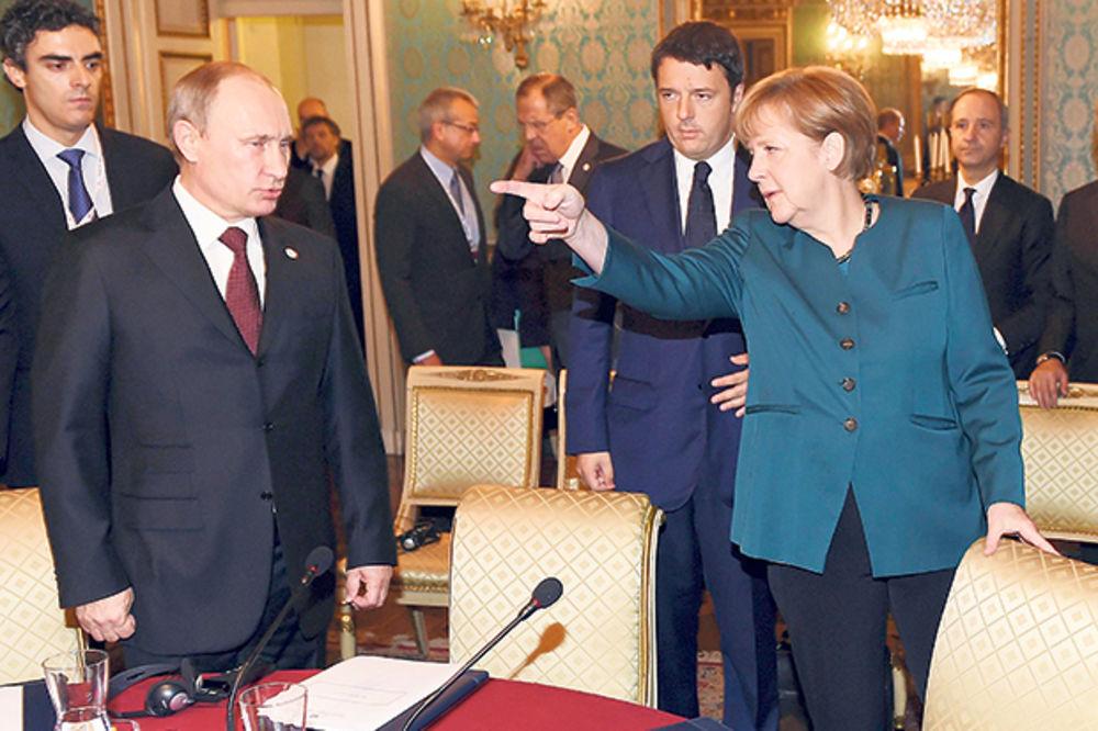 SUKOB: Putin i Merkelova opet u klinču zbog Ukrajine