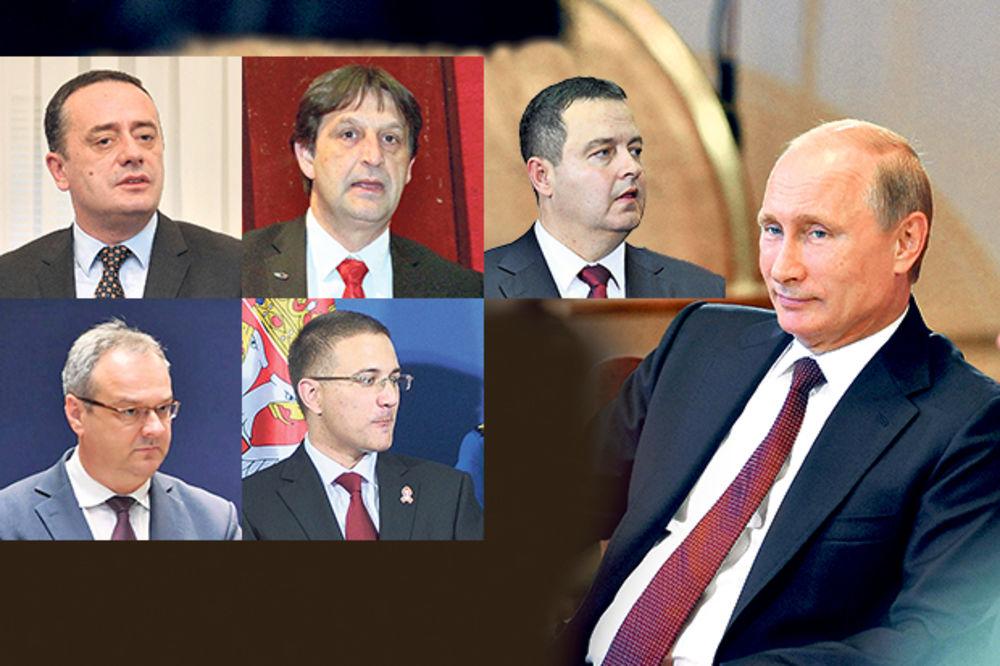 NISU NI PISNULI: Ministri se tresli pred Putinom!