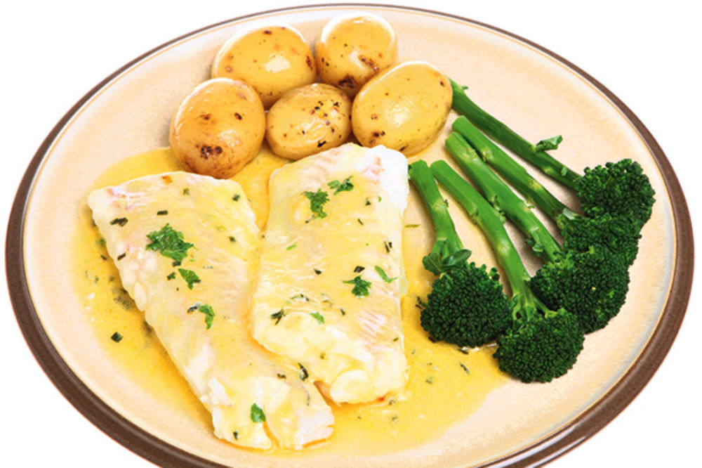 Riba u sosu od senfa