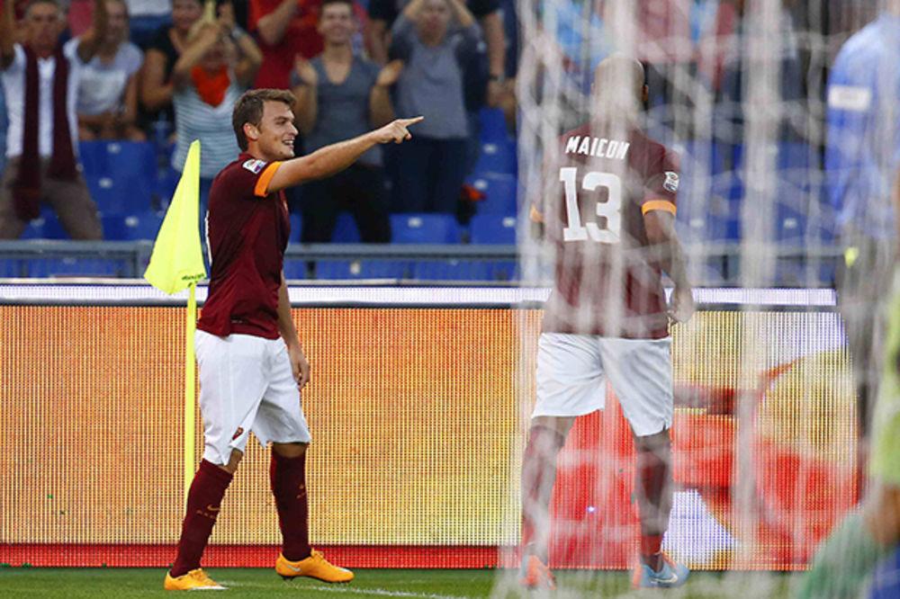 (VIDEO) RUTINSKA POBEDA VUČICE: Roma savladala Kjevo, Ljajić strelac