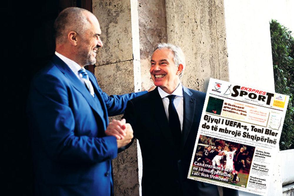 TONI BLER PONOVO NAPADA: Britanac lobira u UEFA za Albance!