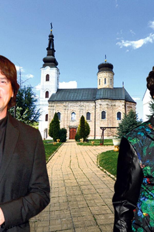 HUMANI: Čola i Brega obnavljaju manastir Šišatovac